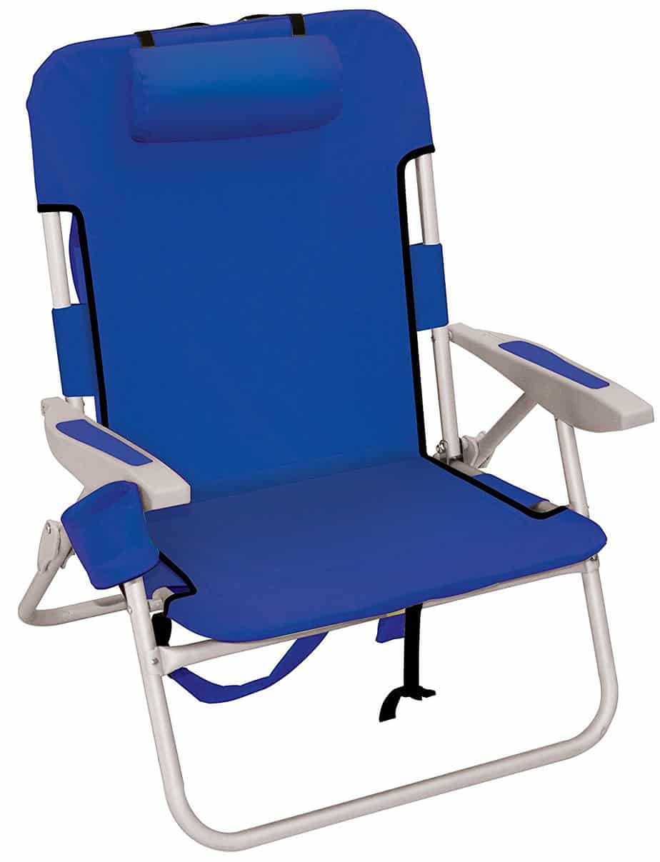 Folding Beach Chairs 2 pcs Blue - Walmart.com - Walmart.com