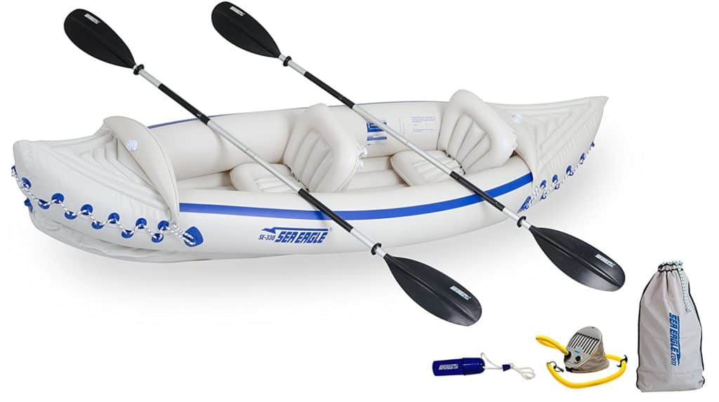 High Weight Capacity Kayak