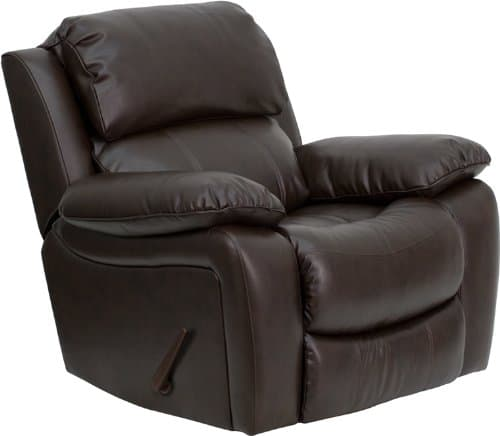 leather recliners for tall people
