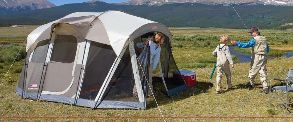 Most Awesome Family Tents With Screened Porch For Camping