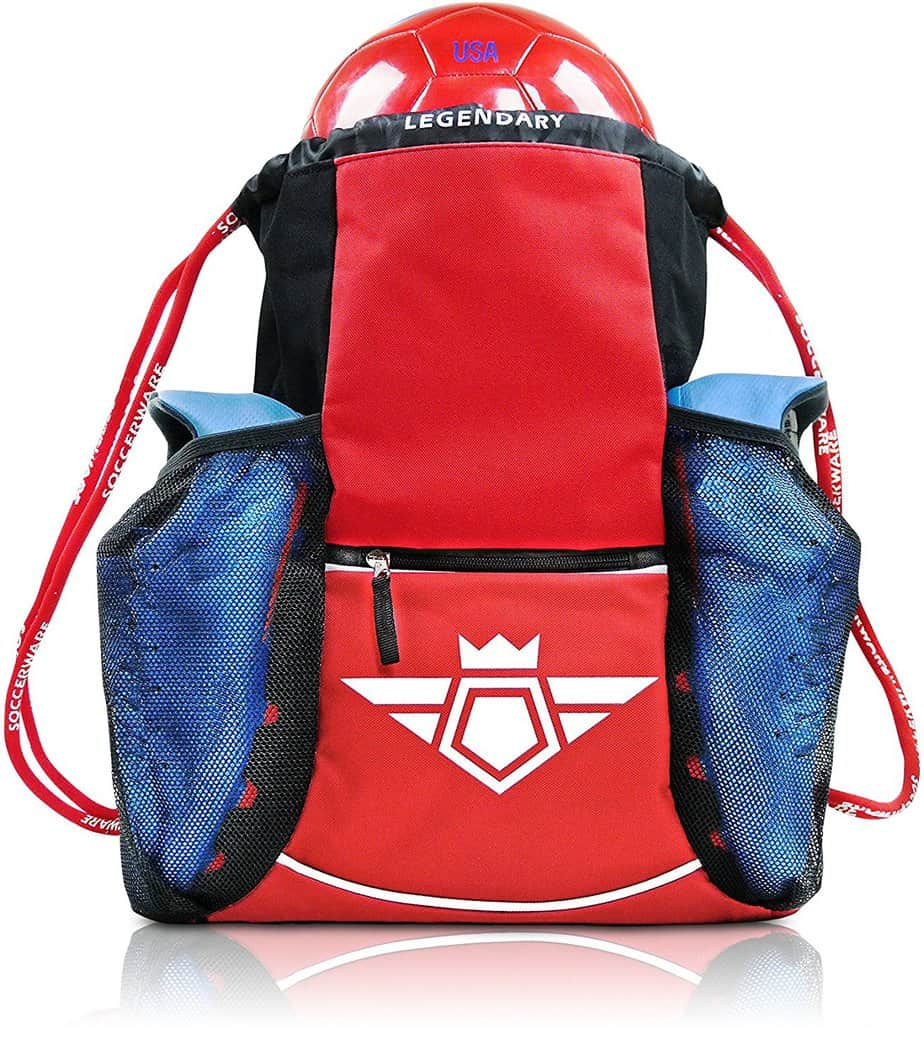79217a1b9f4f Most Comfortable Soccer Backpacks With Ball Pocket