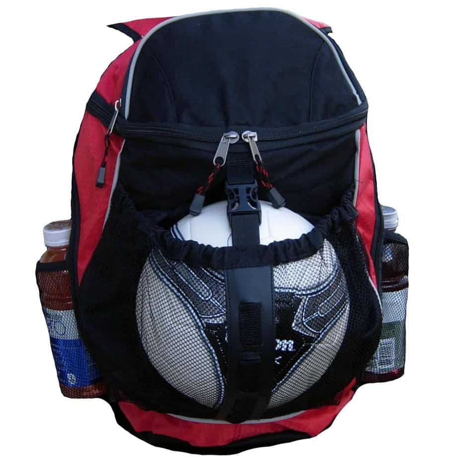 best soccer backpacks with ball pocket and quality material in 2018. Black Bedroom Furniture Sets. Home Design Ideas