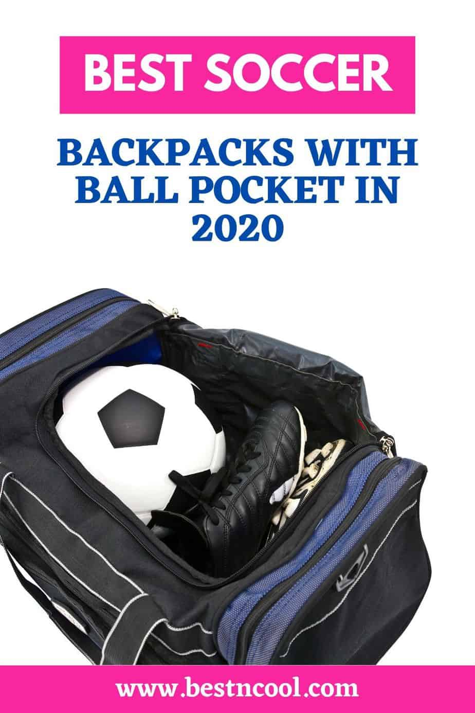 Soccer Backpack with Ball Pocket