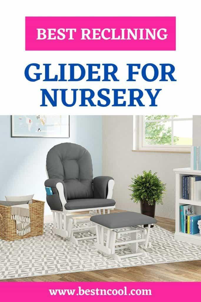 most comfortable nursery glider